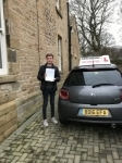 Cameron passed with John Michael Driving school