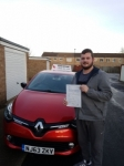 Steven Mcnally passed with John Michael Driving school