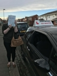 Amy Dear passed at Blyth passed with John Michael Driving School