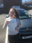 Bethany  passed with John Michael Driving School