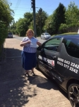 Christine Wirga passed with John Michael Driving School