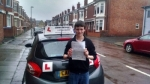 Corey Grey passed with John Michael Driving School