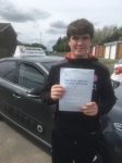 Zac passed with John Michael Driving School