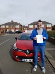 Rob Vardy passed with John Michael Driving School