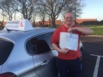 Peter Miller  passed with John Michael Driving School