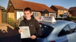 Dane Walker passed with John Michael Driving School