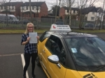 Alia passed with John Michael Driving School