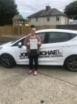 Sam Grimes passed with John Michael Driving School