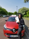 Vania Moura passed with John Michael Driving School