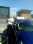 Simon passed with John Michael Driving School