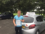 Wesley Gladstone  passed with John Michael Driving School
