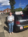 Hayley New  passed with John Michael Driving school