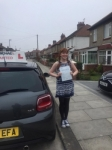 Sarah Peterson passed with John Michael Driving School
