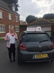 Erin Knowles passed with John Michael Driving school