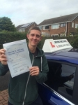 Sam Hall passed with John Michael Driving School