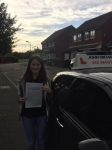 Kerry Wilks passed with John Michael Driving School