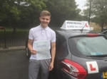 Sean Corrigan passed with John Michael Driving School