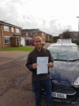 Ray Sailes passed with John Michael Driving School