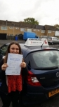 Shona lea Spiers passed with John Michael Driving school