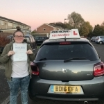 Rachel Webster passed with John Michael Driving school