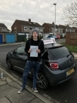 Michael Forster passed with John Michael Driving School
