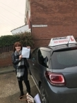 Elaine Sloan passed with John Michael Driving School