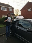 Jamie Lowde passed with John Michael Driving School