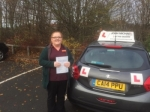 Beth Buckingham passed with John Michael Driving School