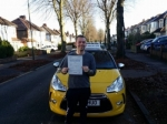 James passed with John Michael Driving School