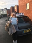 Beth Ryan passed with John Michael Driving school