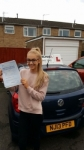 Lydia Turl passed with John Michael Driving school