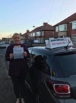 Laura Armstrong passed with John Michael Driving school
