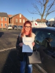 Lauren passed with John Michael Driving school