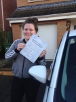 Paris Stewart passed with John Michael Driving School