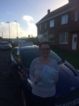 Kayleigh Garrett passed with John Michael Driving School