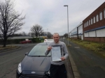 Liam Hetherington passed with John Michael Driving school