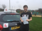 Peter Wylde passed with John Michael Driving School