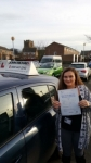 Anna Lennox passed with John Michael Driving School