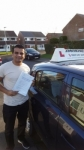 Shabs Miah passed with John Michael Driving school