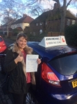 Jenny Underwood passed with John Michael Driving school