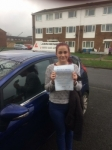 Suzanne Scott just 1 fault passed with John Michael Driving School