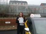 Amy passed with John Michael Driving School