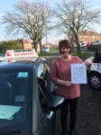 Lynda passed with John Michael Driving school