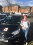 Joanne  passed with John Michael Driving School