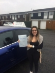 Isabela passed with John Michael Driving school