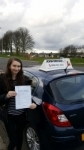 Erin passed with John Michael Driving School