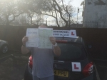 Terry passed with John Michael Driving School