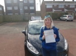 Jennifer Lamb passed with John Michael Driving school