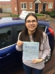 Alexandra passed with John Michael Driving School