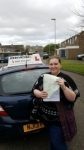 Rebecca passed with John Michael Driving school